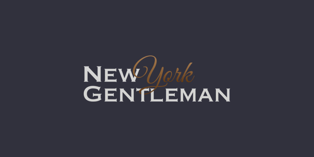 New York Gentleman Logo, Matthew Wolff Design