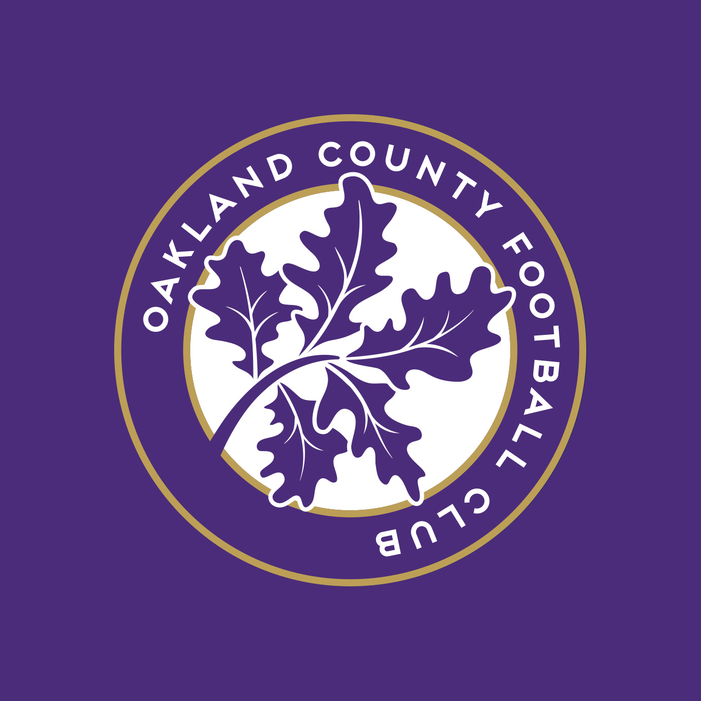 Oakland County FC, OCFC, Premier League of America, Soccer, Crest, Badge, Logo, Matthew Wolff