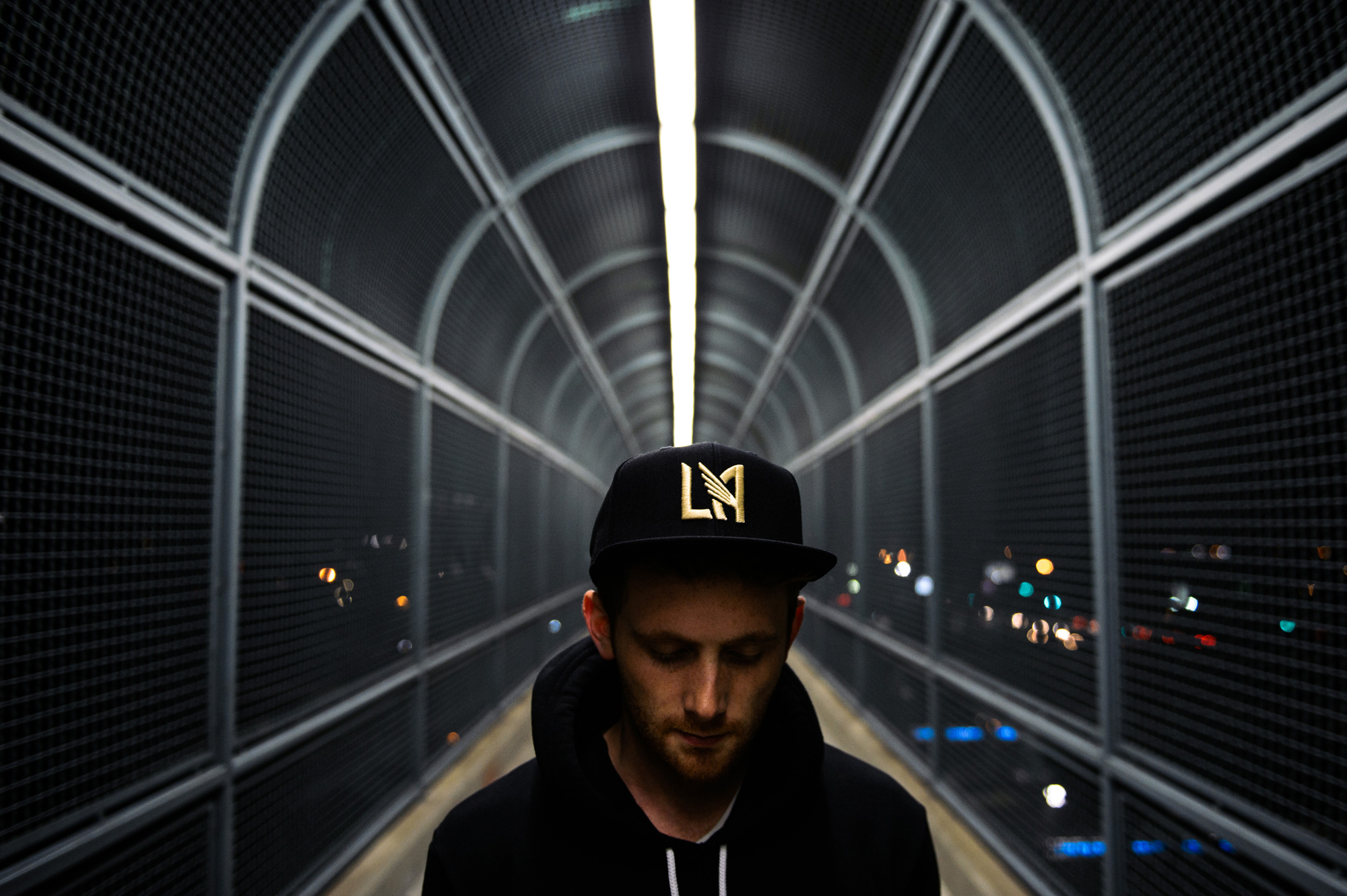 Matt Wolff LAFC, Snapback, Designer, Adidas, Los Angeles Football Club, Logo Design