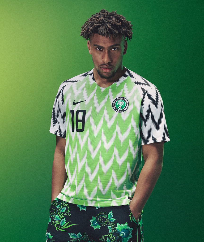 Alex Iwobi New Nigeria Kit, Naija, Super Eagles, Design, Nike, Matthew Wolff
