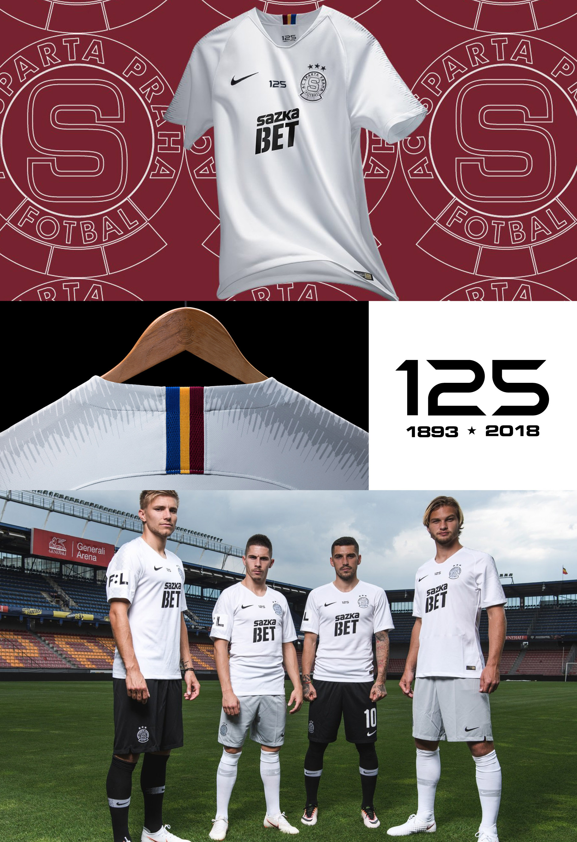 MATTHEW WOLFF, DESIGN, KIT, NIKE, AC SPARTA PRAGUE AWAY KIT 2018-19