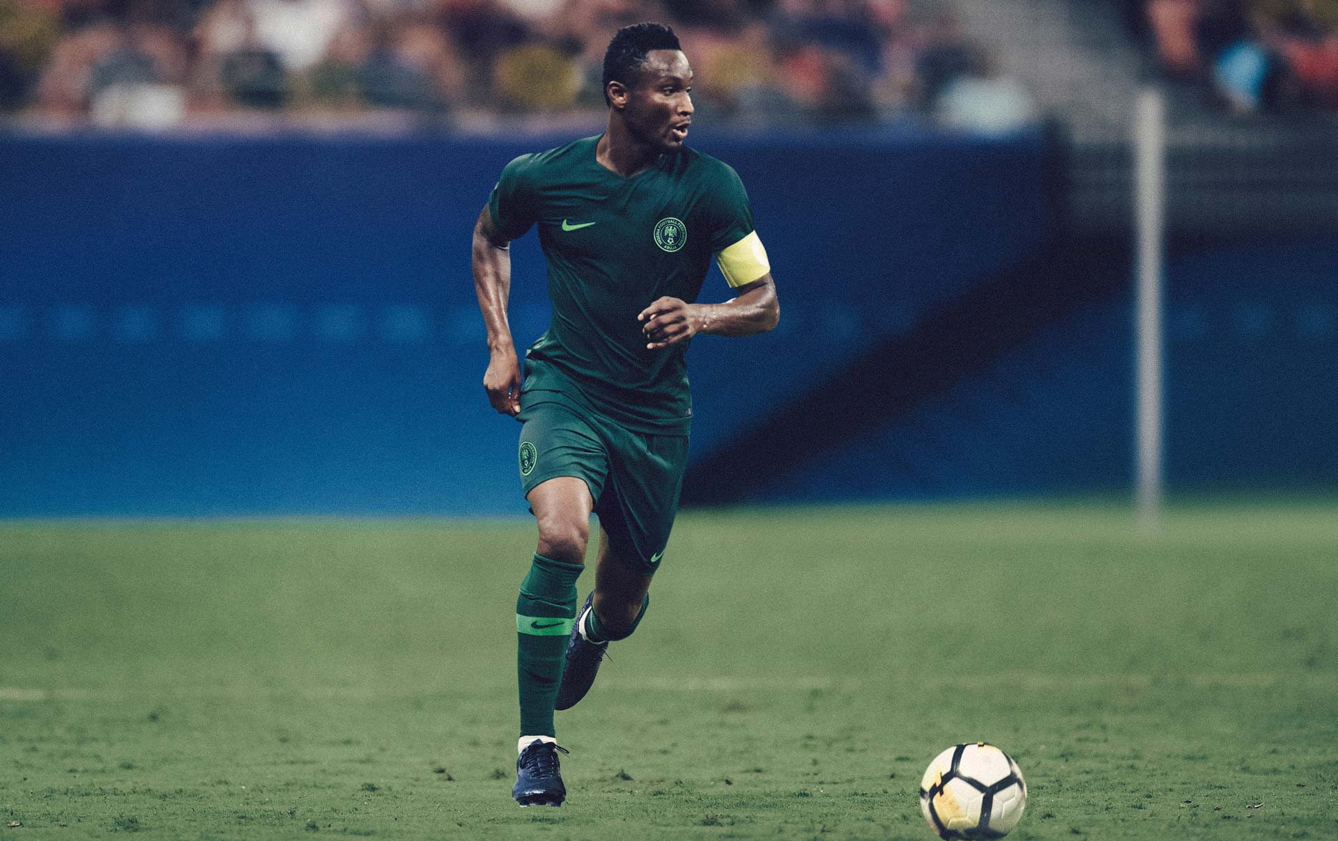 Jon Obi Mikel NAIJA Nigeria World Cup Nike Kits Jerseys Collection Matthew Wolff Design 2018 Super Eagles Away