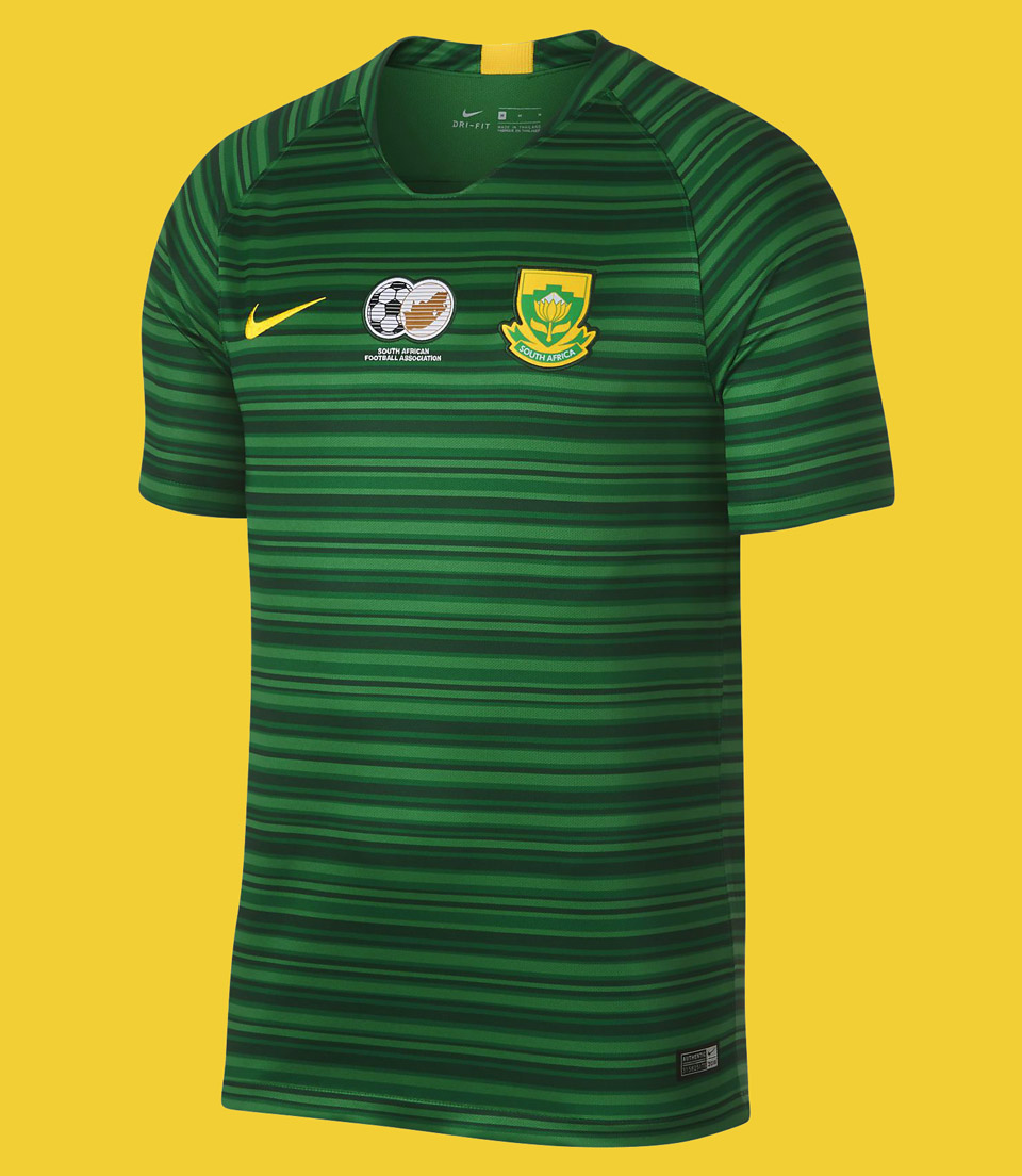 South Africa Away Kit, Jersey Nike 2018, Matthew Wolff