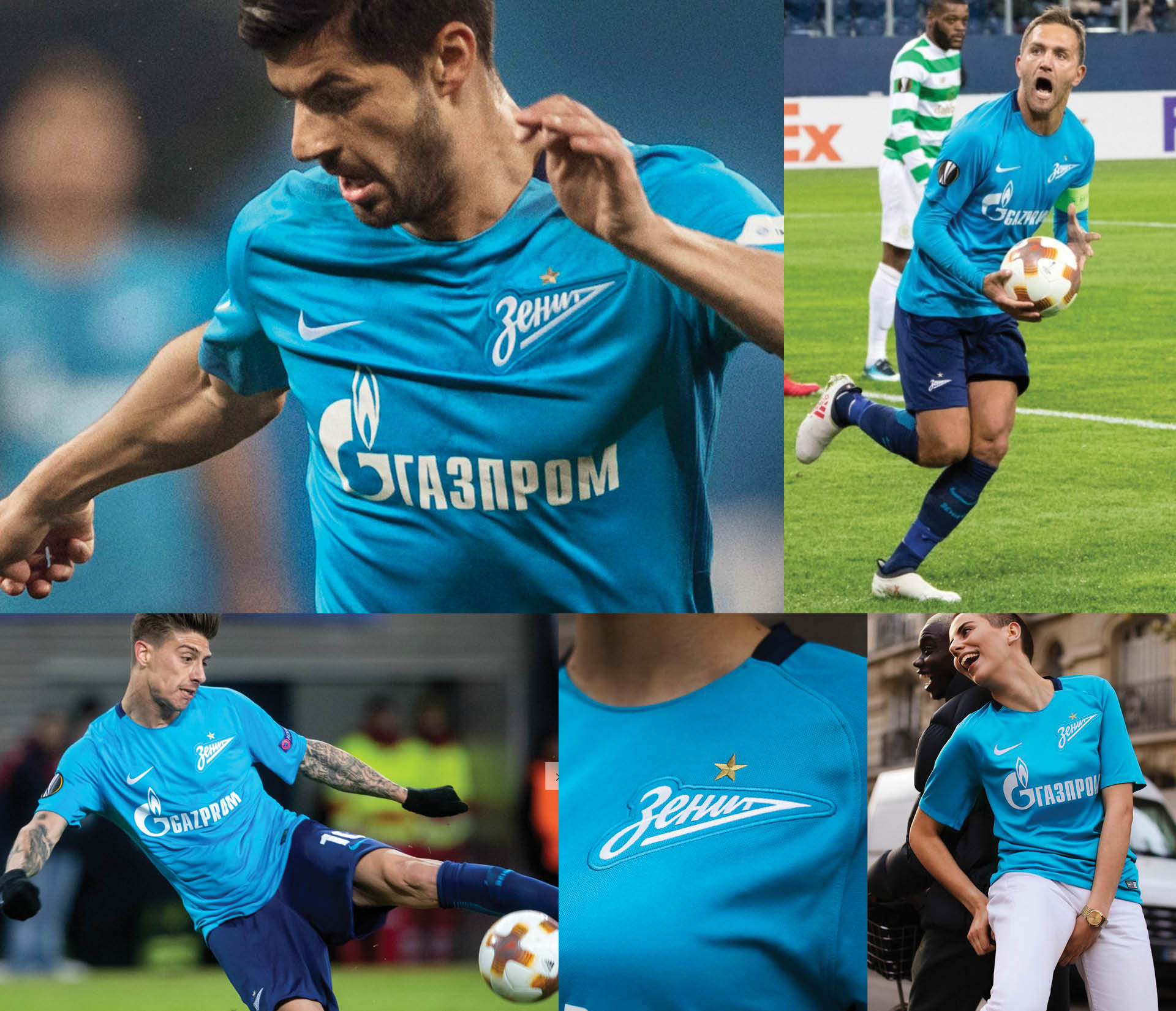 Zenit St Petersburg Nike Kit 2017 Jerseys, Matthew Wolff