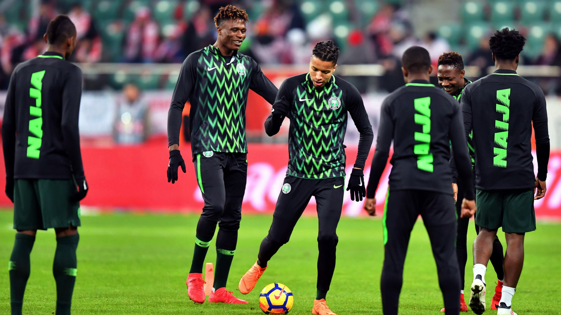 Nigeria Super Eagles Naija Warm-up top